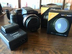 Panasonic LUMIX FZ45 Camera + NEW lenses.