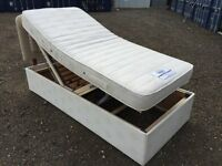 Single Electric Bed, & Mattress Excellent Condition Free Delivery In Norwich,