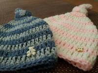 Handcrafted Baby Knot hat - Baby Shower Gift idea