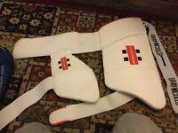 GM Cricket Kit - Kookaburra Batting Leg Pads, ,Helmet , GM Bat + Slazenger Bat , Shoes , Batting glo