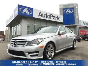 2012 Mercedes-Benz C-Class C250/BLUETOOTH/LEATHER/SUNROOF/CRUISE