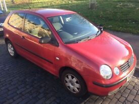 Red VW Volkswagen Diesel Polo 1.8L Fixer Upper or Spares and Repairs
