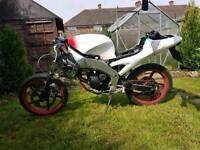 Aprilia rs 50cc with 125cc skyjet engine for parts