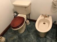 Shower cubicle, sink, bidet, sink with vanity unit