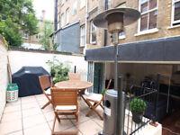 Stunning 1 bed garden flat next to The Queens Club and short walk of Kensington High Street
