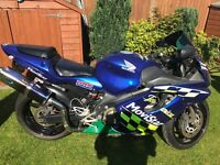 Honda cbr 600 fs2 Movistar motorbike bike