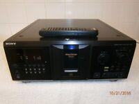 Sony CDP-CX355 300 Cd Jukebox + Remote Control