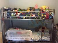 Child's single bunk beds