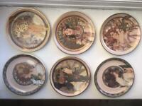 MUCHA 6 classic plate set