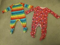 Baby girls clothes 6-9months (16 items M&S/Boots/Hand-knitted)