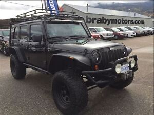 2012 Jeep WRANGLER UNLIMITED Rubicon w/lift & extras