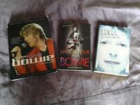 3 Books of DAVID BOWIE.