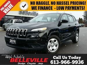 2016 Jeep Cherokee Sport-Touchscreen With Bluetooth