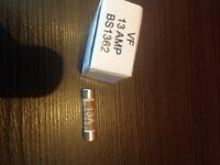 10 x Lawson Fuses Limited VF 13 AMP BS1362 - NEU