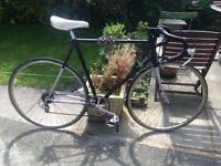 GENTS HANBUILT VINTAGE RACEING BIKE CLEAN CONDITION RIDES WELL