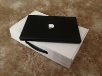 """Apple MacBook 13"""", black, solid state drive and 2.4Ghz processer 4gb ram"""