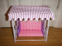 Doll Garden Swing Set Fits Barbie