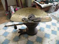 antique weight scale