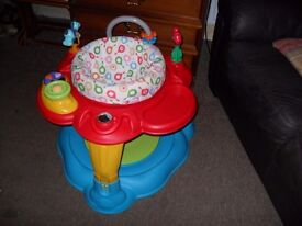 Activity bouncer station