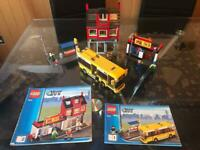 Lego City Corner and Lego City Bus Station