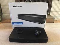 BOSE Solo TV Speaker System/soundbar With Box Remote And All Cables (optical Etc) Barely Used. £160