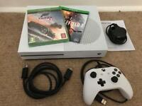 XBOX ONE S 500GB WITH BATTLEFIELD 1 & FORZA HORIZON 3