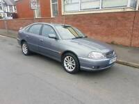 Toyota avensis 02 reg last owner had 10 years excellent condition px options available