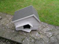 Cat House Chalet Style with Veranda - Excellent Condition