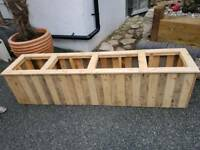 Rustic planter for office or conservatory