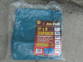 Tarpaulin 12ft x 8ft - new