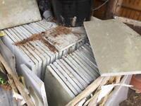 Limestone patio slabs bargain