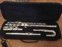 Elkhart Flute with additional curved head...