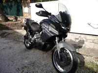 APRILIA CAPONORD ETV 1000 - 2003 Sports Touring bike, Black / Silver Metallic.