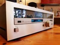 Japanese radio tuner SANSUI T80. Family Owned.