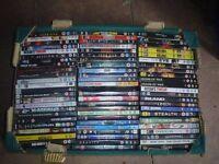 BOX OF 70 DVD'S