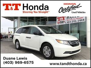 2015 Honda Odyssey LX *No Accidents, One Owner, Back-up Camera