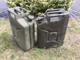 20 litre Metal Fuel Containers