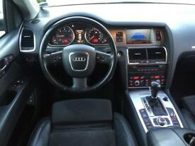 LHD LEFT HAND DRIVE AUDI Q7 3.0 TDI QUATTRO 7 SEATER AUTOMATIC GREY WARRANTY PART EXCHANGE WELCOME