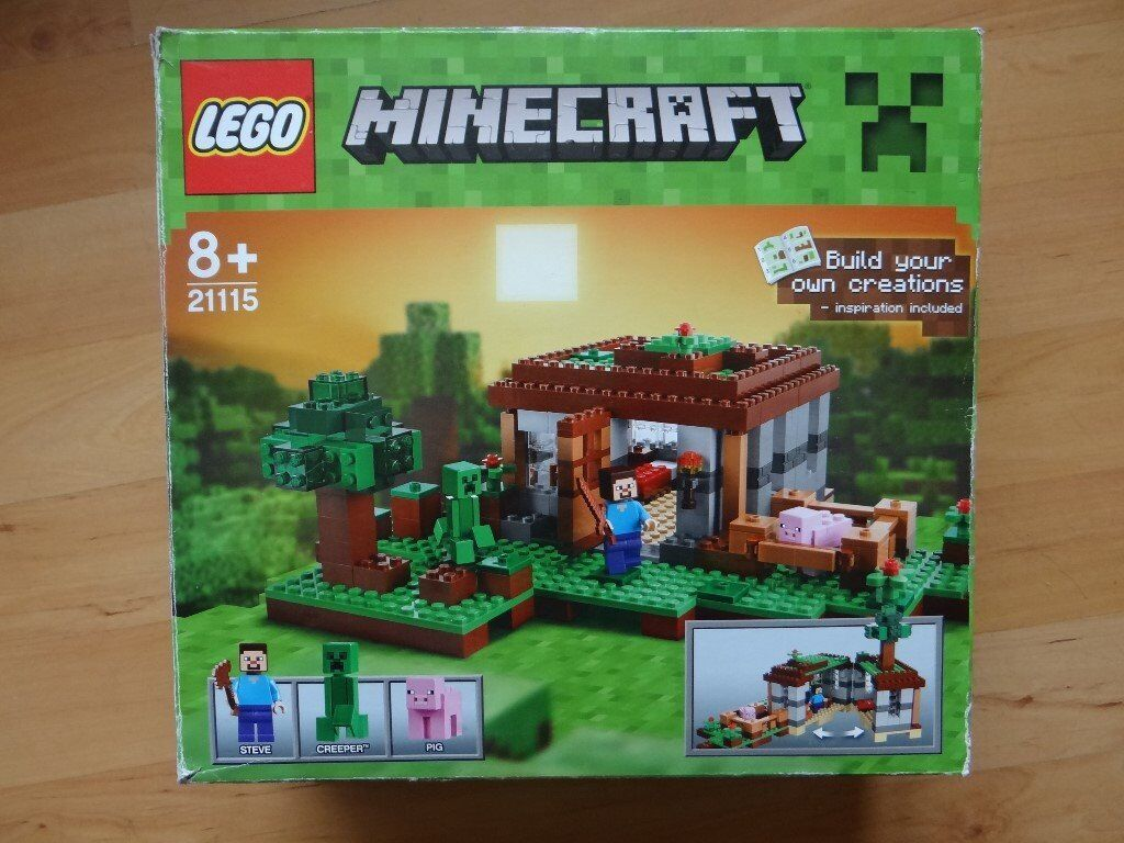 Lego Minecraft 21115 Boxed And With Original Instructions In