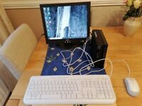 Lenovo ThinkCentre PC with Screen , Keyboard & Mouse.