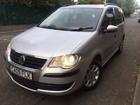 09 plate - Face up lift - 1.9 Vw Touran - 11 Months MOT - 7 Seater - 6 Speed - 2 Former keepers