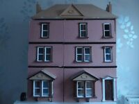 Dolls House. Large and spacious dolls house.