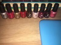 17 nail polish