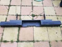 Transit rear step