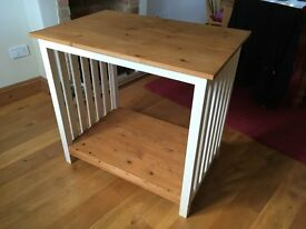 Bespoke kitchen island, solid wood, good condition.
