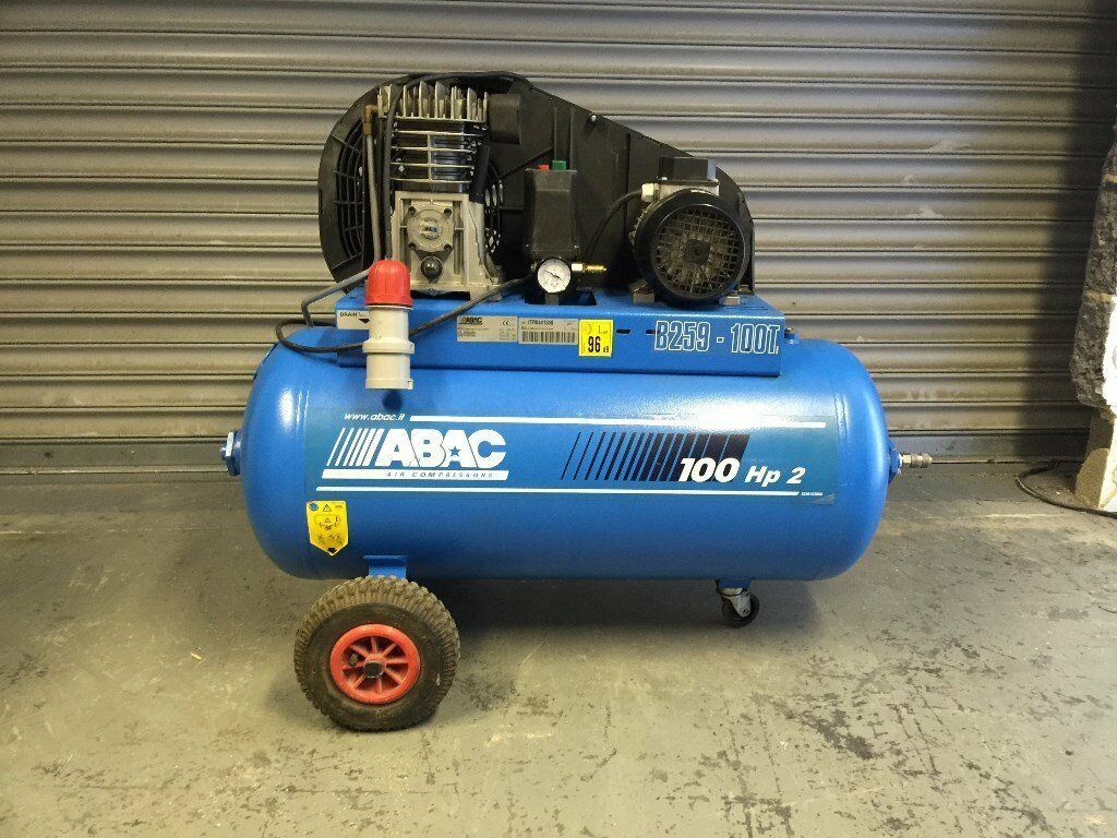 ABAC 2 HP 100LTR COMPRESSOR 415V(3PHASEin Cramlington, NorthumberlandGumtree - ABAC 2 HP 100LTR COMPRESSOR 415V(3PHASE) This is in mint condition and works as it should quiet machine and portable we are a family run compressed air business we have a large selection of new and used compressors, air hoses and air tools we also...