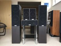 AV Speakers 5.0: Tannoy Mercury V4 Floorstanders, Tannoy Mercury VRi Rears, Tannoy Mercury VC Centre