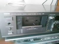 Yamaha kx630 cassette player