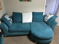 Dfs escape sofas teal