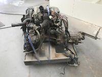 BMW m40 1.8L engin gear box plus loom